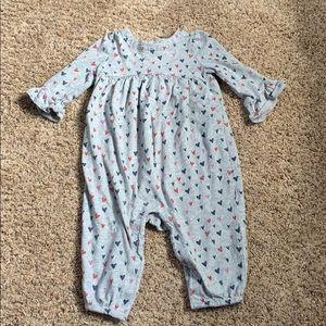 Baby Gap girls long sleeve one piece